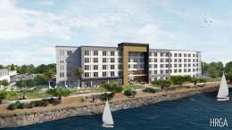 Harbor Bay Residence Inn By Marriott Alameda Hotel