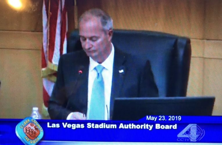 Las Vegas Stadium Authority Raiders Meeting Live May 23 2019