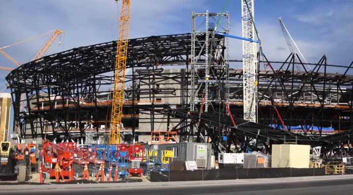 Oakland Raiders Las Vegas Stadium Roof Truss Problem Causes New Delay