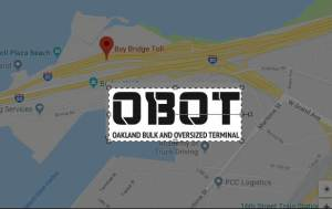 Obot Oakland Port Land Map