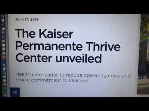 The Kaiser Permanente Thrive Center For Uptown Oakland To Open 2023