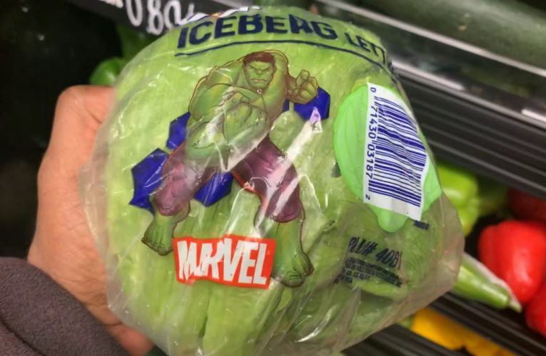 "Eden Fresh Market Fayettville GA Has ""The Hulk"" On Iceberg Lettuce"