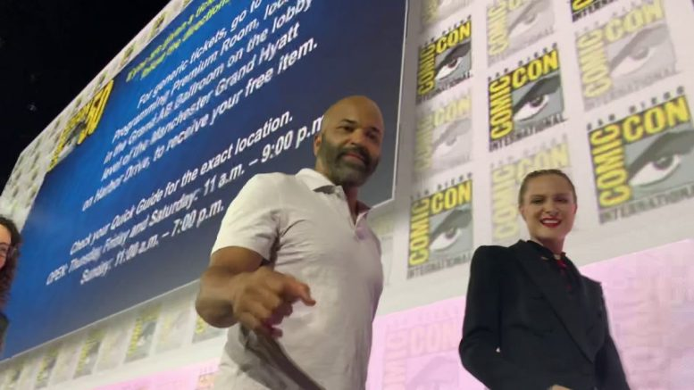 """Jeffrey Wright Fist Bumps On """"uncle Nearest"""" Whiskey Mention"""