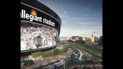 Oakland Raiders Las Vegas Stadium Allegiant Naming Rights, Topping Out, $700 Million Deficit