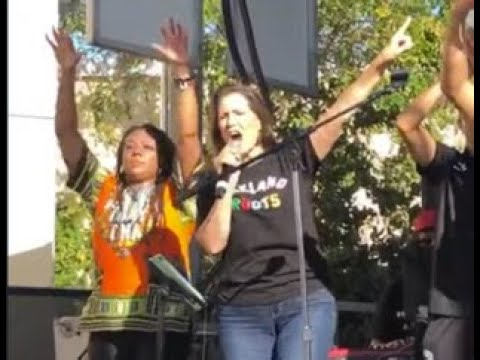 Libby Schaaf Oakland Mayor Becomes Oakland Roots Head Cheerleader