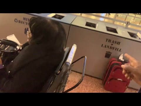 Red Bag Left Out In Open At Las Vegas McCarran Airport – We Reported It
