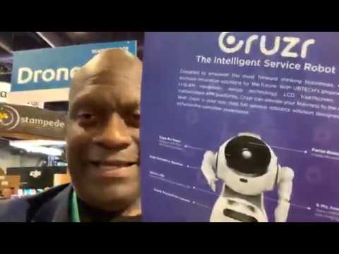 UbiTech At CES 2020 Features Gruzr The Lost In Space Style Robot