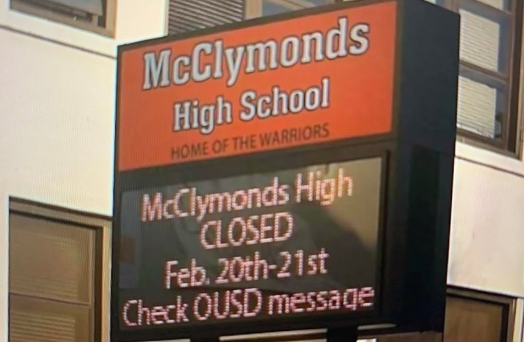 McClymonds High School Closure TCE Update And FAQ By Oakland Councilmember McElhaney