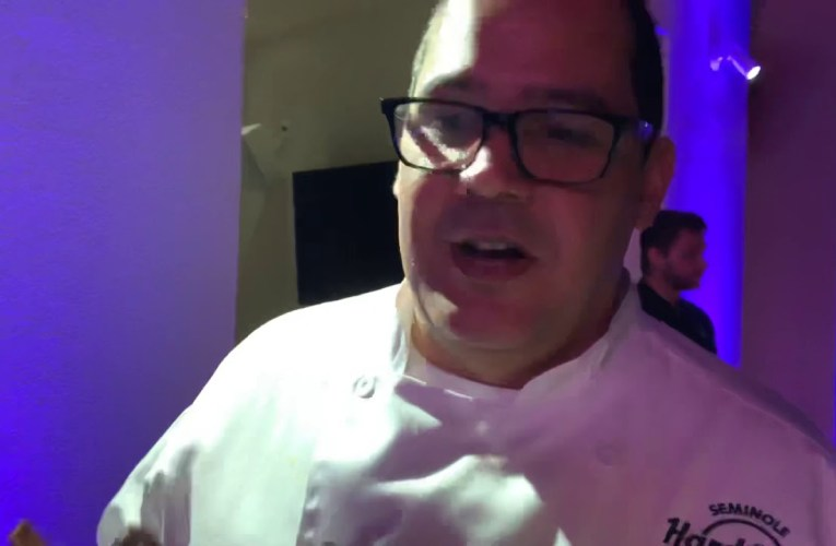 Chef Tito Vargas At Culinary Kickoff Super Bowl LIV Party At Seminole Hard Rock Hotel And Casino