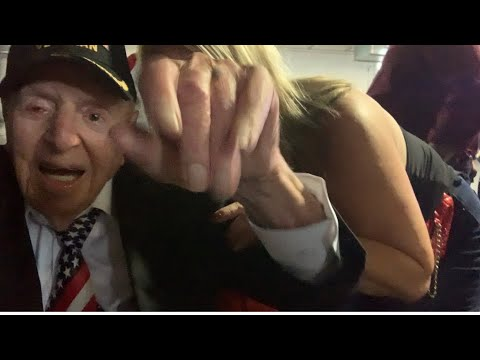 Cmd Sidney Walton WWII Hero NFL Special Guest Super Bowl LIV Leigh Steinberg Party Guest