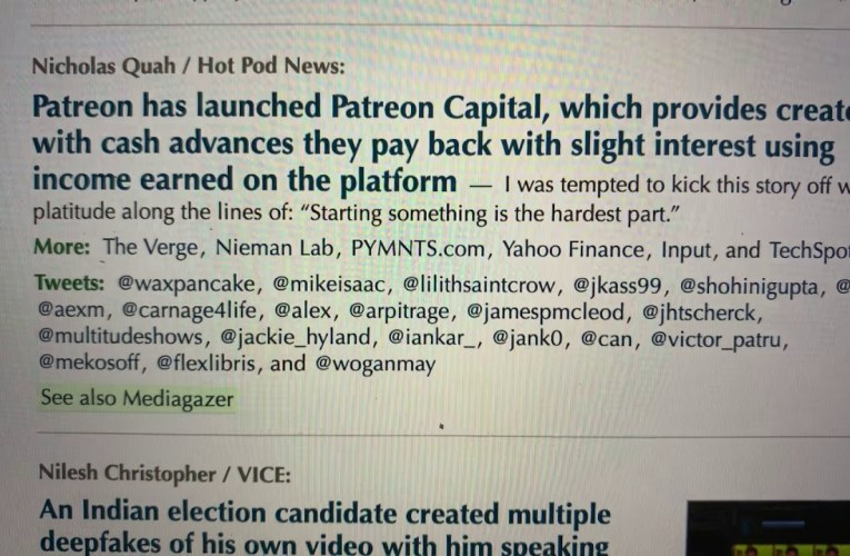 Patreon Has Patreon Capital So YouTube Should Have YouTube Capital For YT Partners