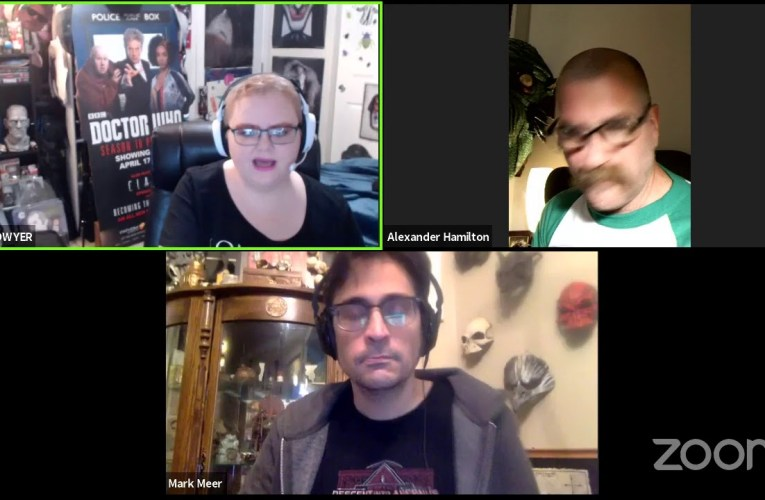 CoronaCon Part 1 With Mass Effect's Mark Meer And Artist Alexander Hamilton By Jessica Dwyer