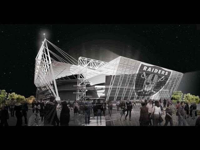 Las Vegas Raiders New Oakland Coliseum NFL Stadium Concept You Never Saw