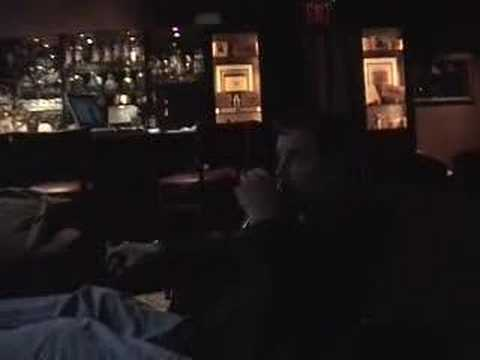 NFL Football, 2007 NFL Draft Talk On Jerry Jones With Wade Burch At Merchants NY Bar And Restaurant