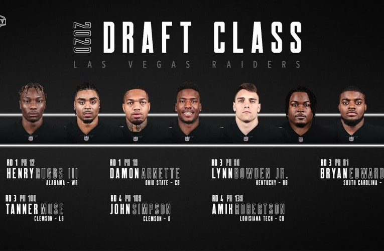 Las Vegas Raiders 2020 Draft Class Conference Calls In Video By Former Oakland NFL Team