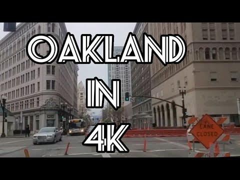Rosie Murphy's Rolling Through Downtown Oakland: A 4K Video Experience