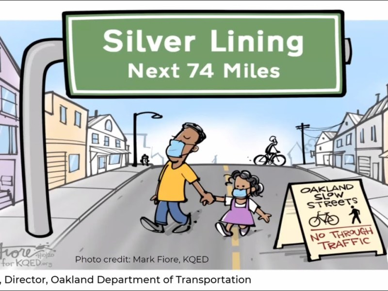 """OakDOT's Russo In """"Oakland's 75 Miles of Slow Streets: Mobility Experiments During Lockdown"""" Video"""