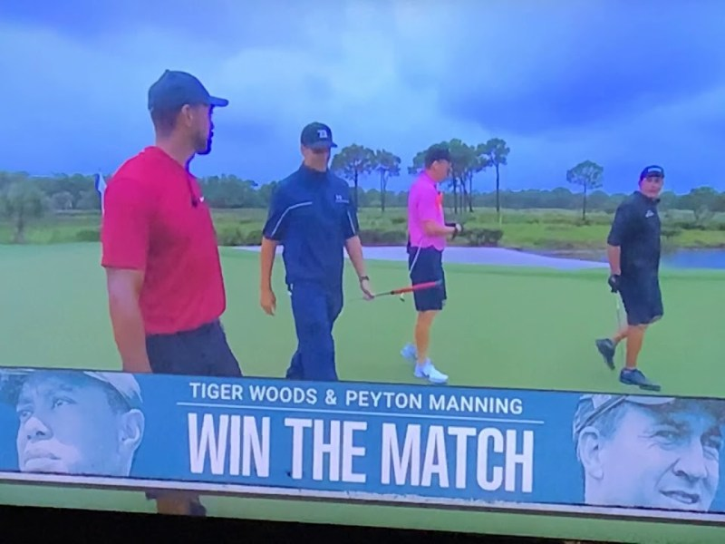 Tiger Woods And Peyton Manning Win The Match II – A Fun-To-Watch Sports Event