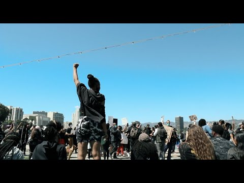 A Day At Lake Merritt: George Floyd Black Lives Matter Protest in Oakland, California