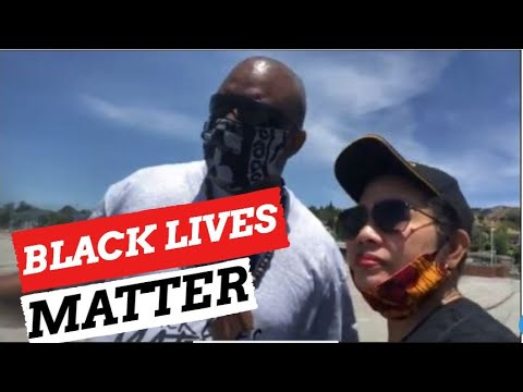 MandM Giles On YouTube At Black Lives Matter East Oakland Rally
