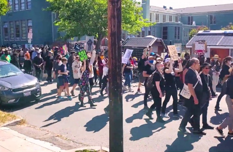 Ben Bartlett's Funeral to Bury Racism – June 6, 2020, Berkeley, CA