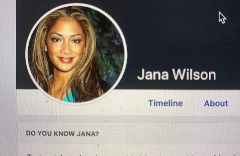 """Jana Wilson"" On Facebook Looks And Is Used Like A Fake Profile Designed To Spread Controversy"
