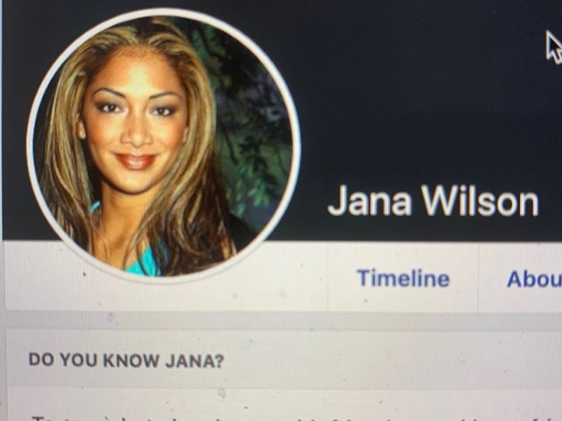 """""""Jana Wilson"""" On Facebook Looks And Is Used Like A Fake Profile Designed To Spread Controversy"""