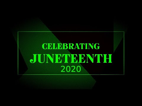 Juneteenth Rally In Oakland City California 2020