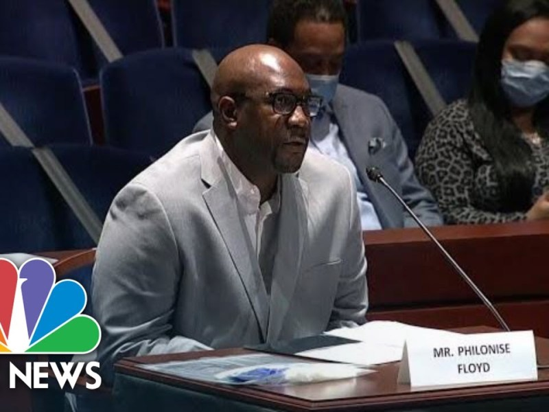 Live: George Floyd's Brother Testifies at House Hearing on Police Brutality | NBC News