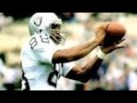 Oakland Raiders / Las Vegas Raiders TE Legend Raymond Ray Chester For The NFL Hall Of Fame