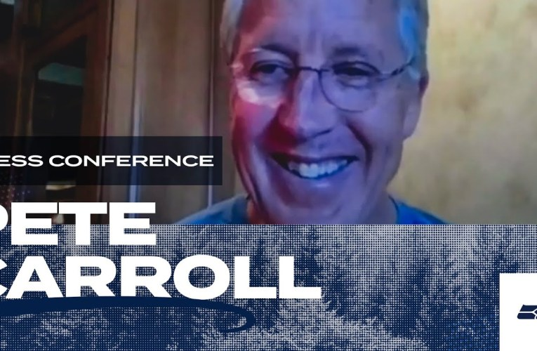 Pete Carroll 2020 Offseason Press Conference