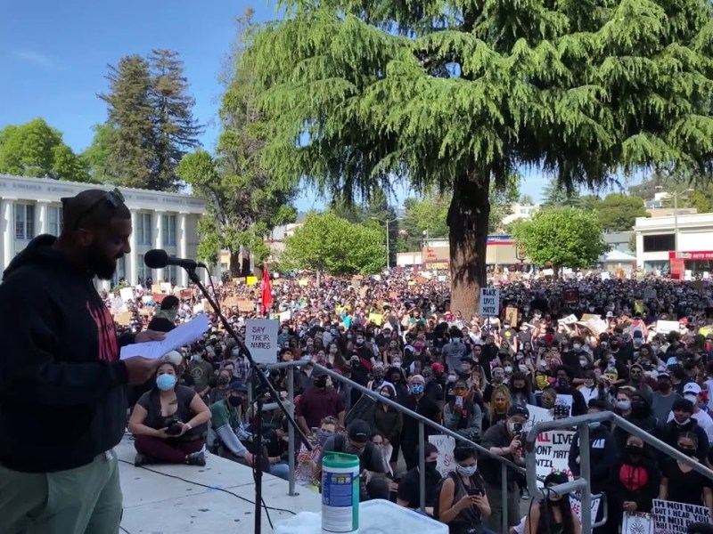 Speech From Justice for George Floyd Protest in Oakland, California June 1, 2020