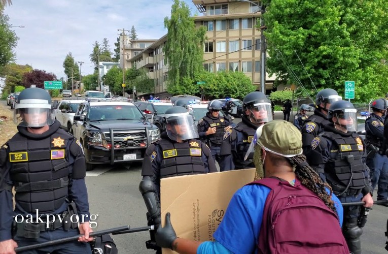 The Sounds Of Oakland: The George Floyd Protests (The Lakeshore Standoff)