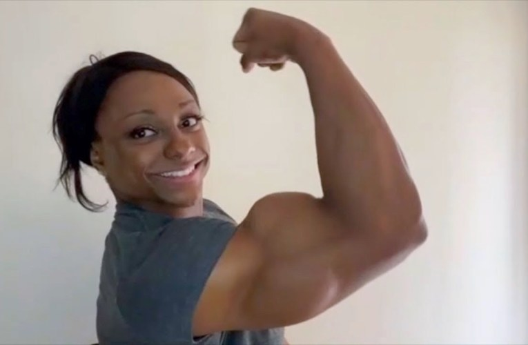 Andrea Shaw Hot Biceps In Praise Of Strong Women