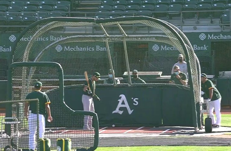 Oakland A's Camp Oakland Coliseum MLB 2020 Season