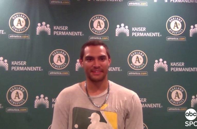 Oakland A's Pitcher Sean Manaea Says He'll Consider Wearing Mask During 2020 MLB Season