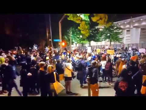Portland Police Association Riot: Protestors Or Cops Broke In And Set Union Office On Fire