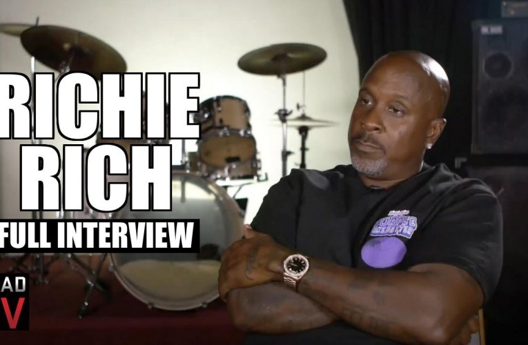 Richie Rich on 2Pac, Biggie, E-40, '5 On It' Remix, Prison, Oakland (Full Interview)