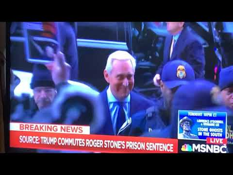 Trump Commutes Roger Stone's Prison Sentence Because Stone Knows Where The Crap Is Buried