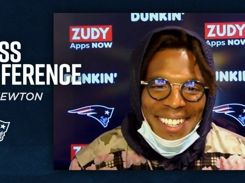 Cam Newton's First Press Conference As A New England Patriots QB
