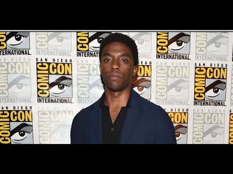 Chadwick Boseman Dead Of Colon Cancer: Boseman Loved Black Panther At San Diego Comic Con Hall H
