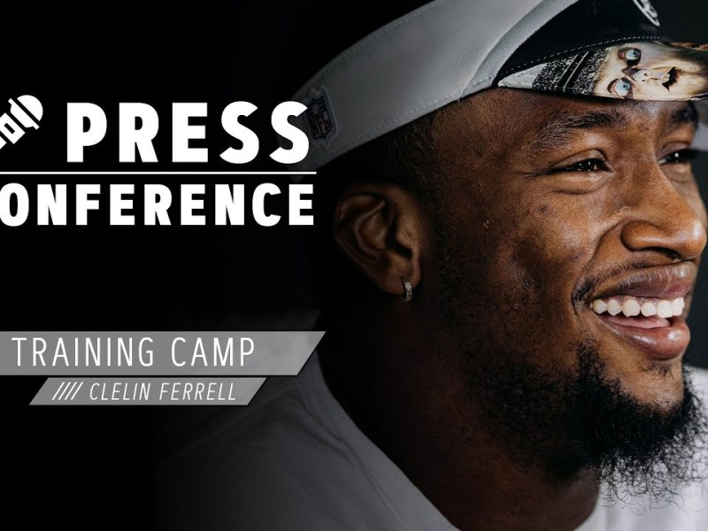Clelin Ferrell Ready to Cut It Loose in 2020, Discusses Rod Marinelli | Las Vegas Raiders
