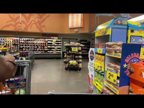 Kroger's Fayetteville GA Scene Of My First Vlog From A Motorized Shopping Cart