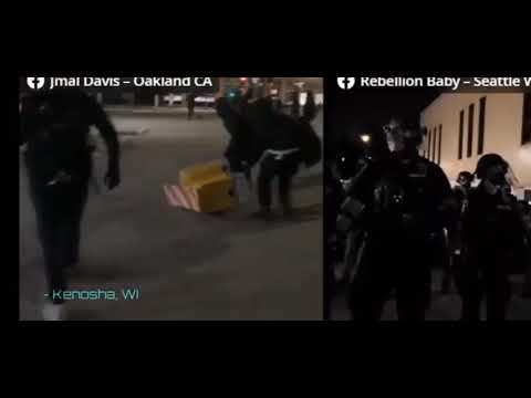 From Jmal Davis FB Via YouTube: Looting And Violence Happening In Downtown Oakland