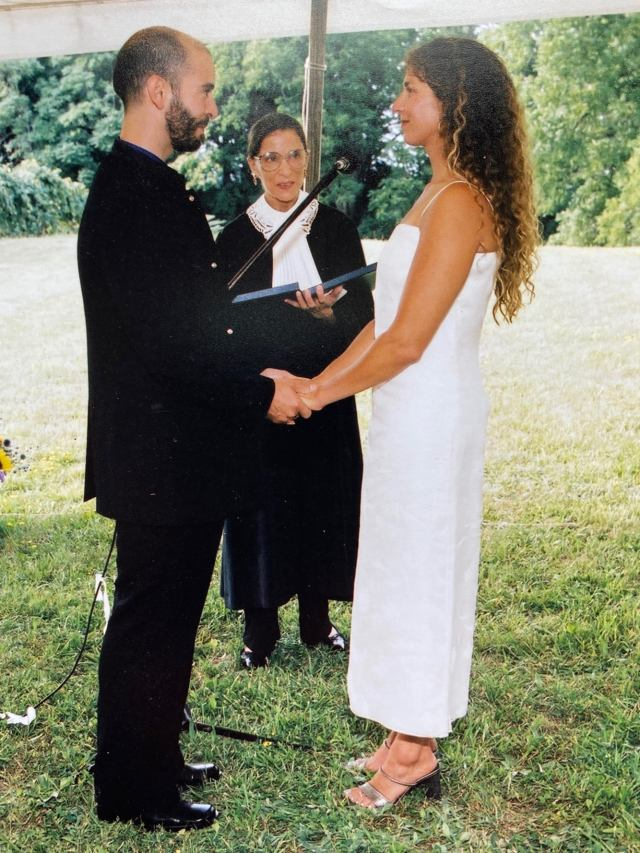 Ruth Bader Ginsburg Officiated Marriage Of Oakland's Jane Greenberg And Albert Dicruttalo