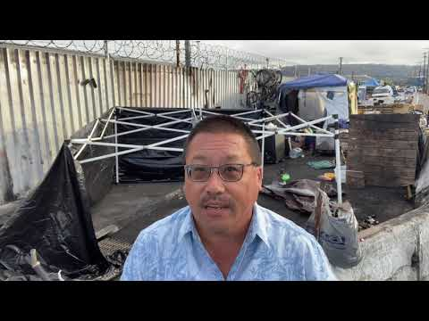 Aftermath Of An Oakland Fire In Homeless Encampment : TOXINS Are Problems – Derrick Soo