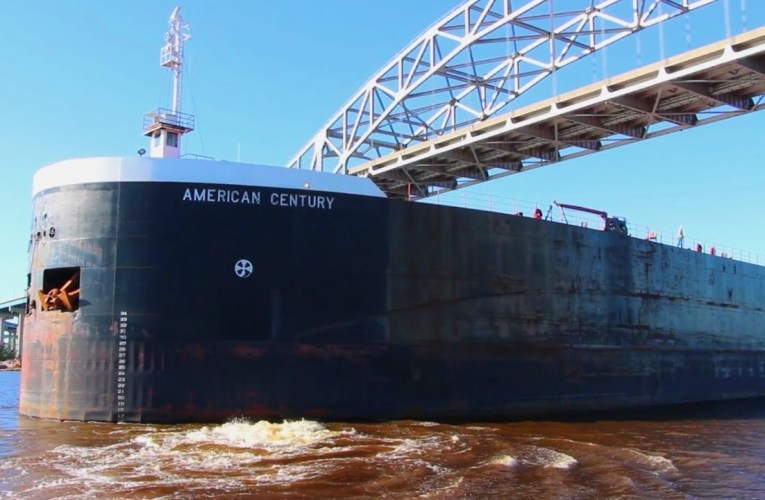 American Century – Steel Giant Arrives in the Twin Ports For Coal