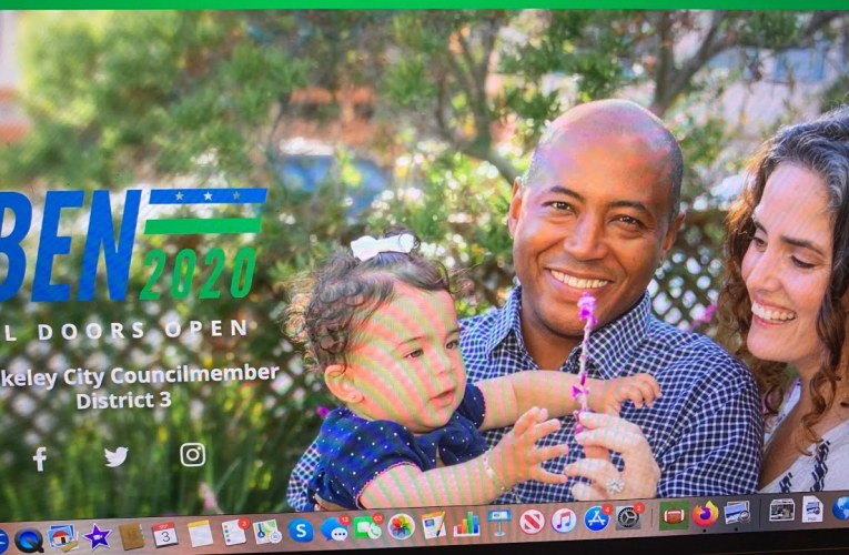Check Out Berkeley Councilmember Ben Bartlett's New Campaign 2020 Website