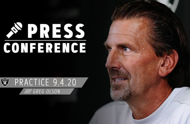 Greg Olson on Running Back Depth, Difficult Decisions To Finalize 53-Man Roster | Las Vegas Raiders