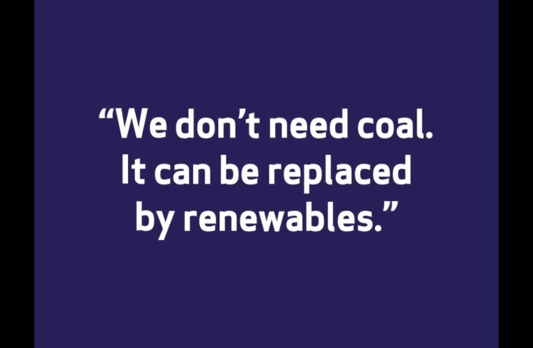 "Oakland Misconceptions About Coal – ""We Don't Need Coal. It Can Be Replaced By Renewables"""